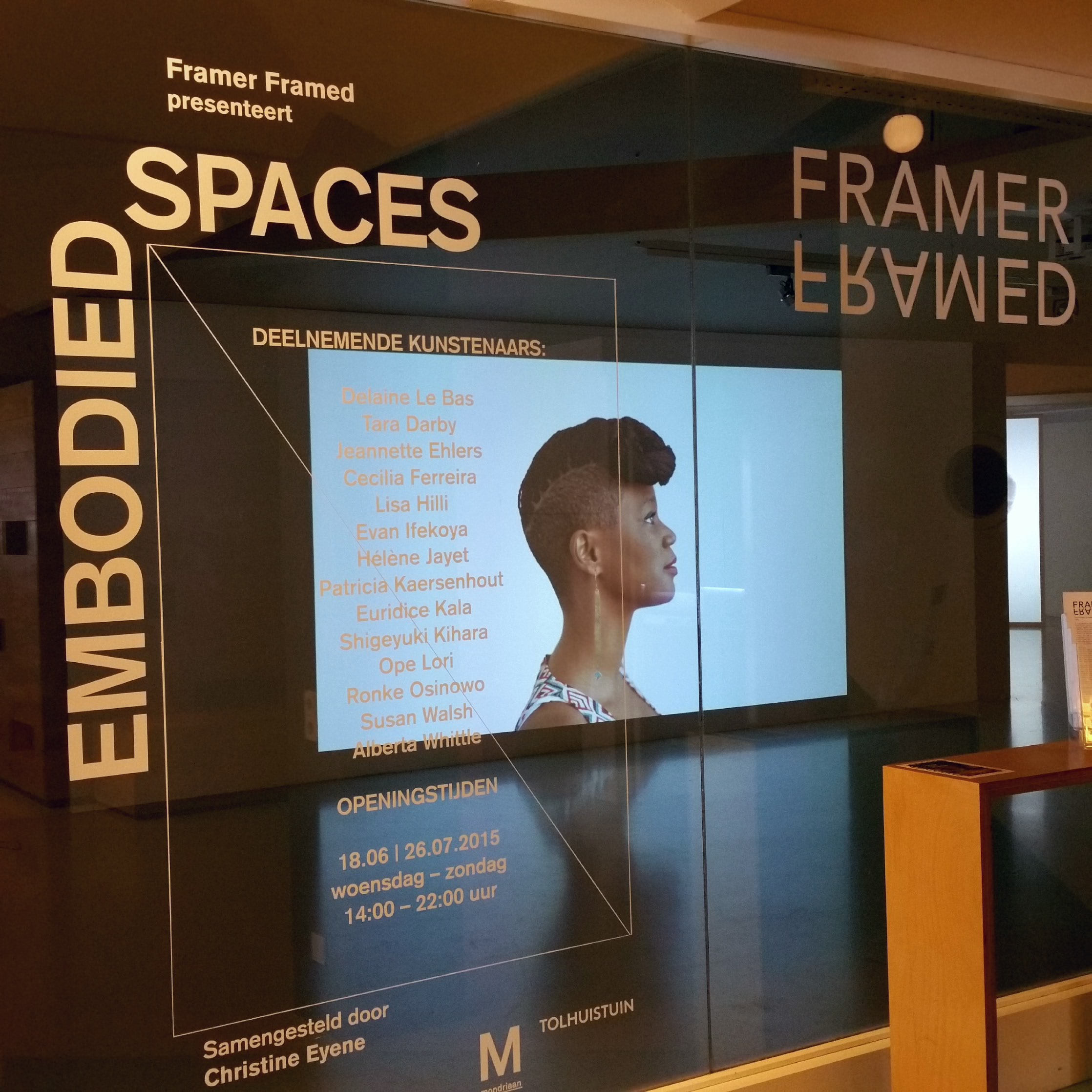 Embodied Spaces / Framer Framed – Amsterdam